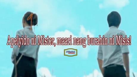 apelyido ni Mister