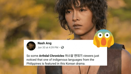 Philippine language 'Tausug' used as a dialect by the tribes on Arthdal Chronicles