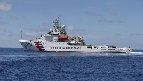Chinese Warships Transit Philippine Waters