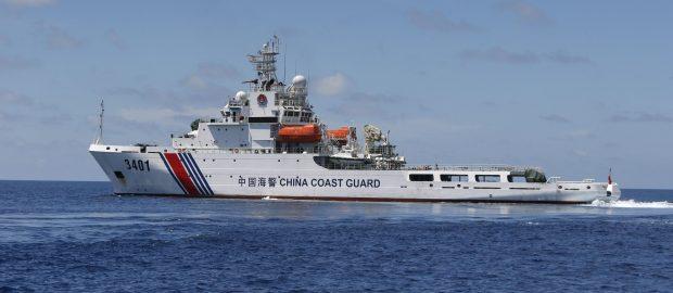 Chinese Warships Transit Philippine Waters