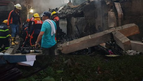 9 ang bilang ng nasawi sa bumagsak na aircraft sa Laguna