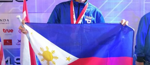 High School student from Abra wins 3rd place at 5th World Robot Games in Thailand