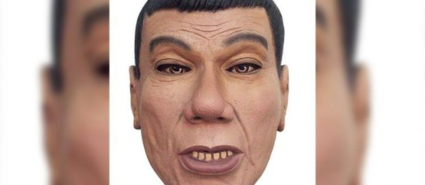 DUTERTE HALLOWEEN MASK