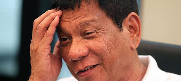 Duterte reveals he has a neuromuscular disease
