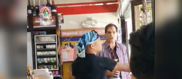 Foreign dude goes viral for public meltdown in 7-Eleven