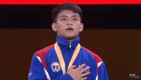 king of the gymnastics world