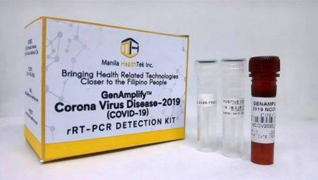 Philippine-made COVID-19 test kits