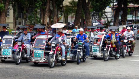 Mandaluyong tricycle drivers