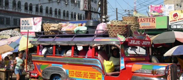 Traditional jeepney