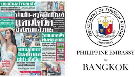 Thai newspaper for calling PH 'land of COVID-19'
