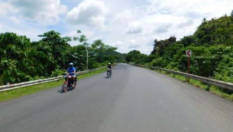 Siargao's Dapa-General Luna Road