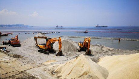 dolomite sa Manila Bay ay hindi 'mapanganib'