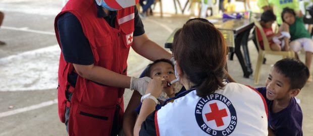 Red Cross pinahinto ang pagsusuri sa COVID