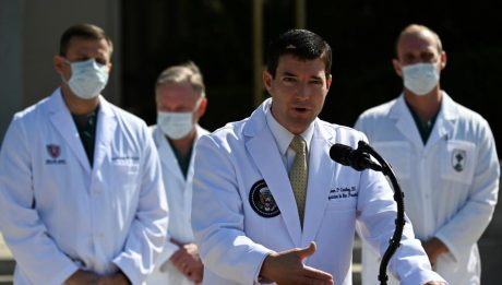 Trump doctors say president's oxygen dropped