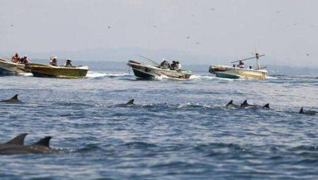 200 Chinese vessels in Julian Felipe Reef