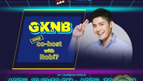 Robi Domingo searches for special co-host of 'Game KNB?'