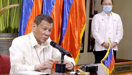 Duterte calls for solidarity, peace, aid to the needy