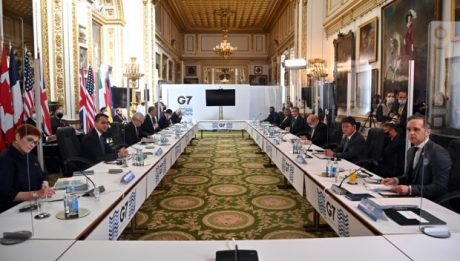 G7 scolds China and Russia over threats, bullying