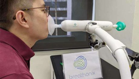 Singapore approves COVID breath test