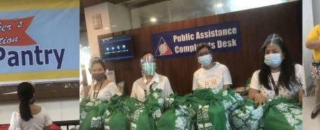 BDO Remit donates hygiene kits for OFWs