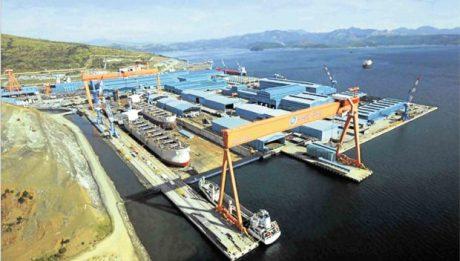 PH Navy nearing takeover of part of Hanjin shipyard