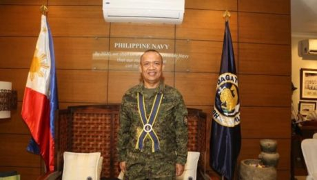 Duterte appoints Bordado as next Philippine Navy chief