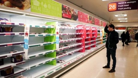 UK food supply chains 'on the edge of failing'