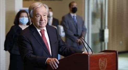UN chief calls for unity to tackle most challenging period
