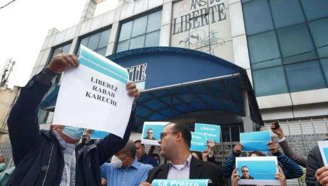 Algerian journalist ordered held in custody