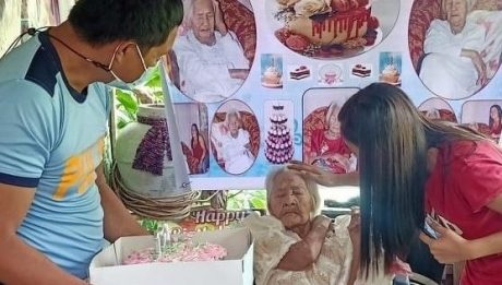 Oldest living Filipino feted on 124th birthday