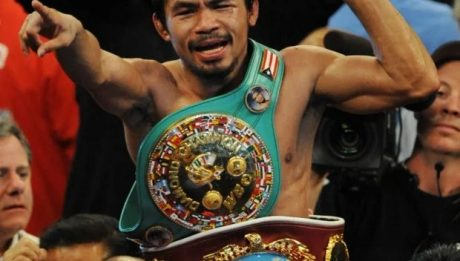 Manny Pacquiao hangs up his gloves for good
