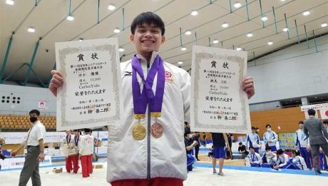 Yulo wins two medals in first competition after Olympics