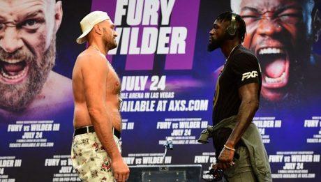 Fury, Wilder ready for trilogy showdown